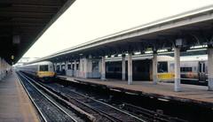LI Jamaica station 7-23-87 (clkayleib) Tags: li commuter mu