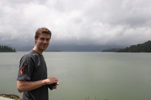 Rune at the Lake Arenal...