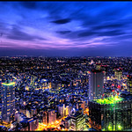 Tokyo at Dusk
