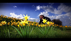 200 / 365 (John FotoHouse) Tags: uk sky selfportrait colour canon eos spring saturated europe flickr yorkshire wide leeds selfportraits sigma 2009 johndolan whiterose dolan fairburn pushingdaisies 365days 40d leedsflickrgroup johnfotohouse yorkshirephotographer copyrightjdolan