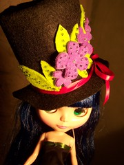 new spring hat!