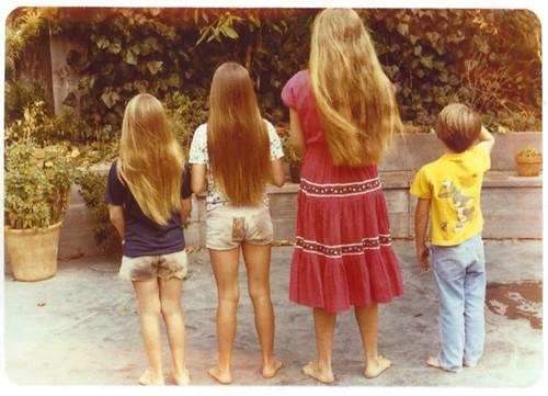 hugh sisters hair