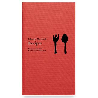 Lifestyle notebook recipes