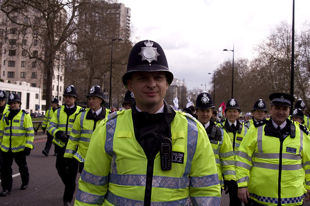 28th March 2009 Pre-G20 Demonstrations London by Lewis Cleveland MCIJ