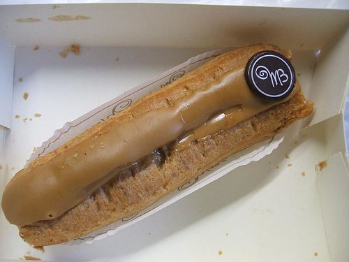 Cafe eclair from Maison Blanc