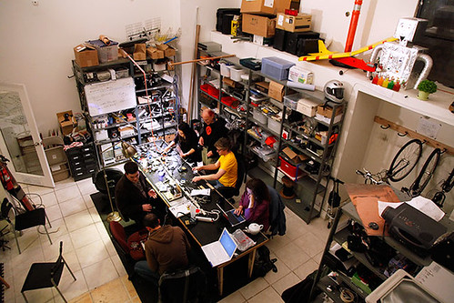 Noisebridge - a hackerspace in San Francisco