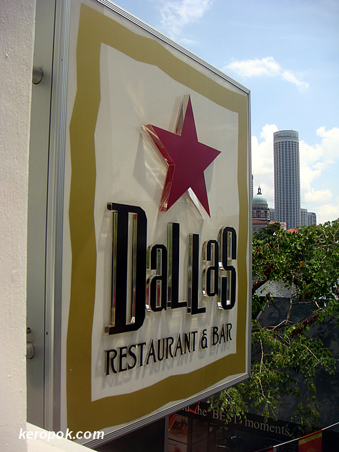 Dallas Restaurant & Bar @ Boat Quay