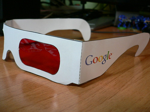 Google Easter Eggs List >> Search In Pictures: Google 3d Glasses, Yahoo Baseball & Broken Google Mugs - Search Engine Land