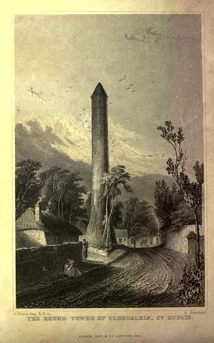 007-1 La torre redonda de Clandalkin Dublin
