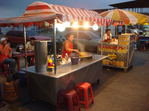 Night snacking in Escuintla, Guatemala.