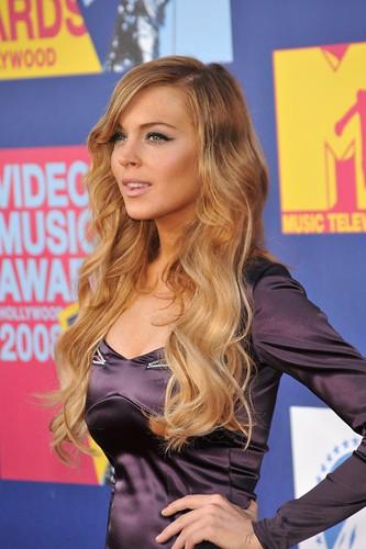 Lindsay Lohan at MTV Music Awards