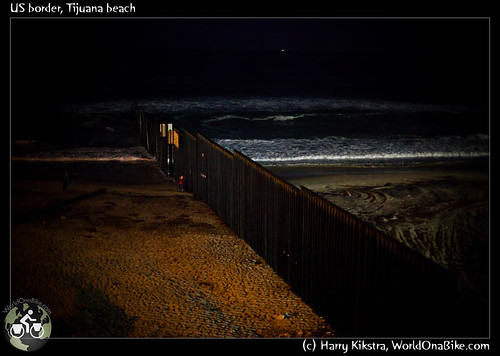 US border, Tijuana beach