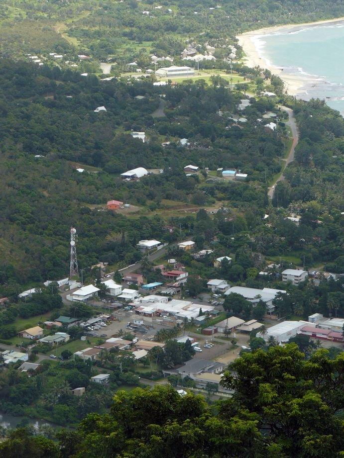 Vue de l'antenne de Poindimie 2009 #7