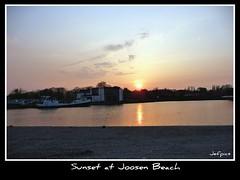 Sunset at Joosen Beach (jefpics) Tags: light sunset sky canal fantasy 2009 jefpics turnhout photoshopalbum phoddastica