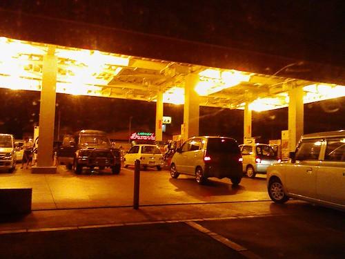 ガソリン価格上昇前夜
