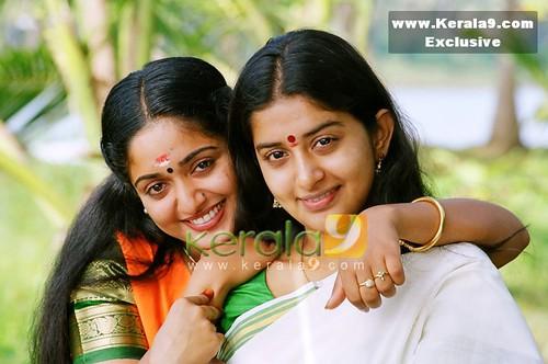Kavya Madhavan with Meera Jasmine