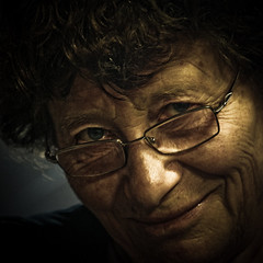 Through the ages [III] (Christine Lebrasseur) Tags: portrait people woman brown france art 6x6 canon simone elderly hdr 500x500 challengeyouwinner bestofr multimegashot thechallengefactory allrightsreservedchristinelebrasseur