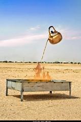 (Talal Al-Mtn) Tags: canon fire shot tea ghost devil kuwait q8 desest 450d alwafra talalalmtn