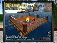 Floating Deck (THE MUSE DEFINED) Tags: shopping secondlife romanticsunset bqdesigns animatedbbqorientaloceanhomehousedeckswinebarbequegrillsaunagardenprefabhomesmaisonbeachhousesskyboxdecksbarpartylightsboatramprumsakebeerbarrelalcoholcocktailspartydecksodacool