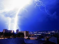 Zeus's anger (Lolo_) Tags: storm marseille lightning orage éclair foudre atomicaward