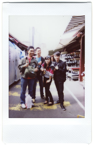 Polaroids from Melbourne