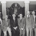 Mr Bede Jordan, Mr Raymond Senechal, Mr Barry Lewis, Mr Claude Durant, Mr Jean Letaille, Associate Professor Eric Andrews and Mr Ian Morrison attended a Civic Reception (appeared in the Uni Bulletin Vol 14, Pg 5, 1991)