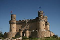 Manzanares el Real. Castillo de los Mendoza (darkside_1) Tags: madrid espaa castle castillo middleage manzanareselreal medievo comunidaddemadrid castillodelosmendoza sergiozurinaga bydarkside darkside1