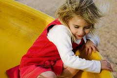 yellow slide (greg westfall.) Tags: girls portrait girl children child greg utata parker westfall utataorg gregwestfall imagesbywestfall gregwestfallphotography