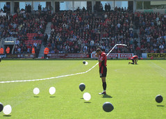 Before the kick-off (arripay) Tags: uk 2 two england game football cherries ryan soccer pray praying match bournemouth league afc grimsby garrry
