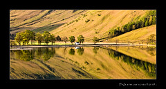 Buttermere. (numanoid69) Tags: uk england lake mountains reflections landscape nationalpark lakedistrict calm cumbria fells reflexions buttermere almostanything prideofengland