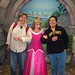 Kurtie, Aurora and Me at Disney Princess Fantasy Faire