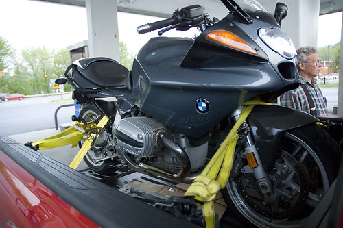 BMW R1100S Delivery I