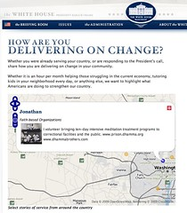 Delivering on Change - OSM in the WhiteHouse