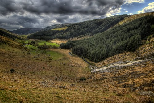 Valley in the Wicklow Mountains