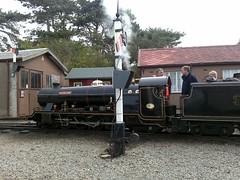 River Esk at Ravenglass (ChrissieT) Tags: river engine railway steam irt rer mite eskdale ratty esk ravenglass dalegarth uksteam daveypaxman henrygreenly