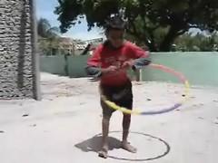 the hula hoop kid... (f i Я a s) Tags: hoop island video kid flickr hula clip maldives atoll thaa uniquemaldives firax veymandoo
