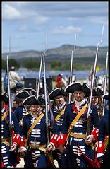 Recreacin Batalla de Almansa (xoneses) Tags: valencia carlos v felipe albacete ejercito batalla batallon fueros recreacion 1707 almansa archiduque bayonetas