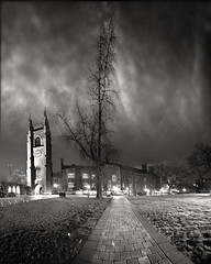 Hart House (University of Toronto) (Explored) (Insight Imaging: John A Ryan Photography) Tags: light blackandwhite toronto ontario canada long universityoftoronto citynight aficionados harthouse cityhistory pentaxk10d citybuild explosurenightlow wwwinsightimagingca johnaryanphotography