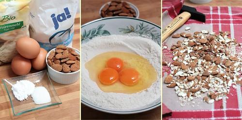 Oeufs, farine, sucre & levure