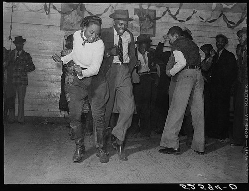 Jitterbugging in Negro juke joint, Saturday evening, outside Clarksdale, Mississippi (LOC)