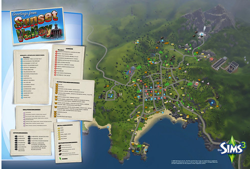 Sims 3 Prima Guide Cover Update And Map Beyond Sims