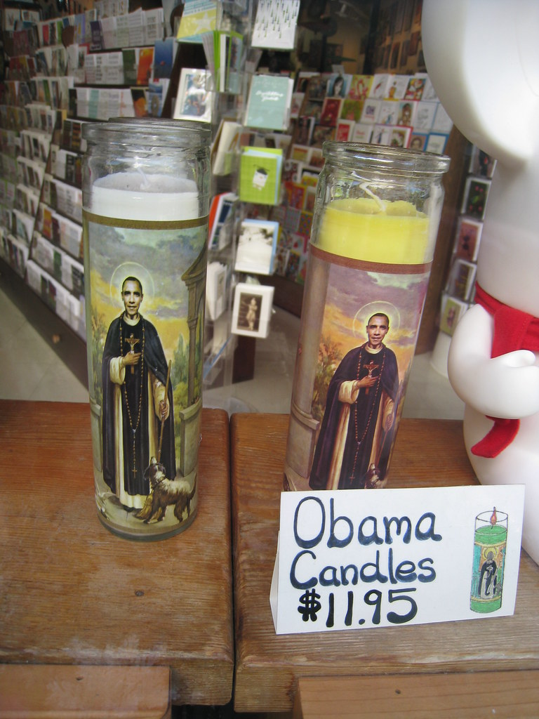 WRONG!  Obama is NOT Jesus!