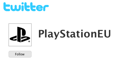 PlayStation.Blog.Europe Tour - Twitter