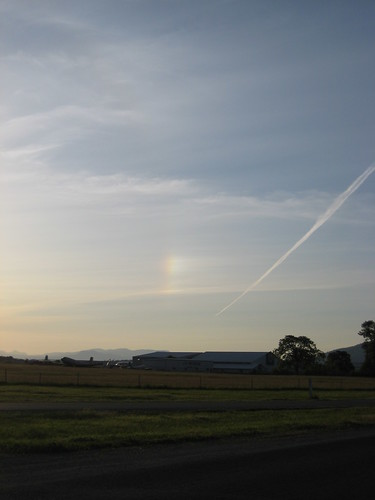 Sundogs Over The Airport