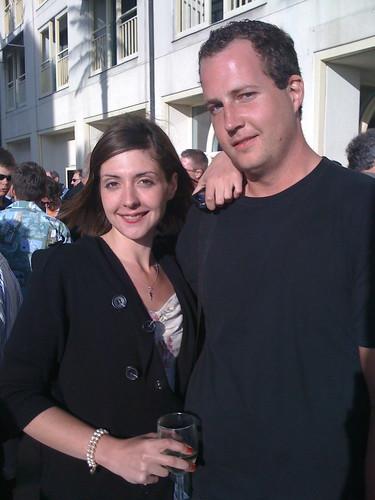 Alexia Tsotsis with Jeffrey Henderson