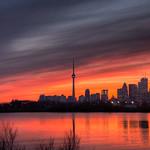 Toronto Sunset HDR