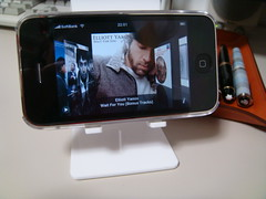 iPhone desktop stand