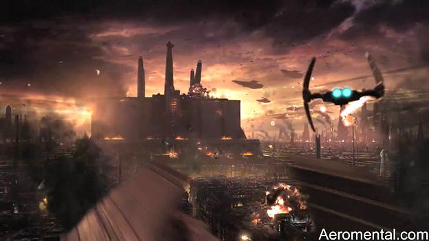 Star Wars destrucción Templo Jedi
