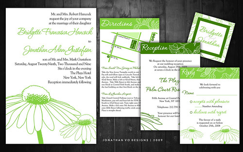 recycled wedding invitations