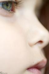 Mis pequeos ojos azules - My lilttle blue eyes (Studio Bianchini - Gabriel Guerra Bianchini) Tags: gabriel up eyes child close guerra lips nia ojos labios infancia bianchini